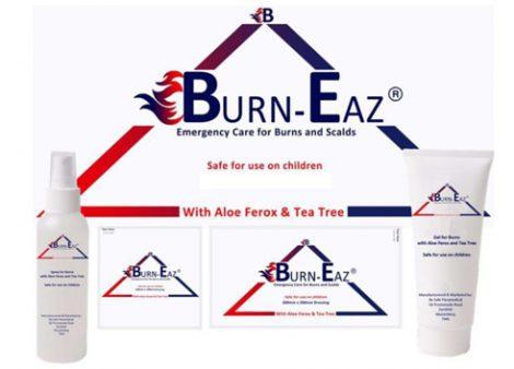 The Burn-Eaz® Range of Burn Dressings, Gels and Sprays