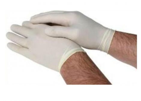 Latex Surgical Gloves - Large